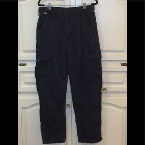 Men's Carhartt flame resistant cargo work pants